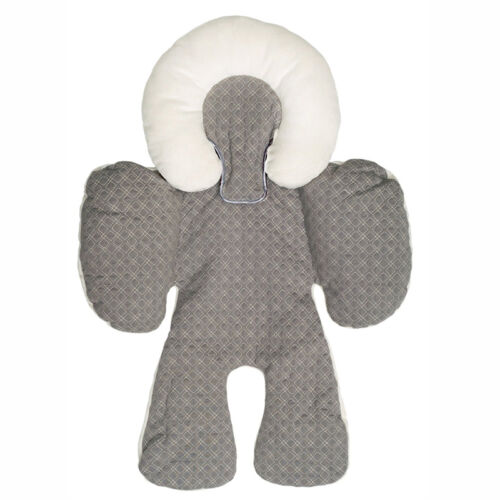 Baby Stroller Liner Reversible Car Seat Mat Pad Cushion 100/% Cotton /& Microfiber