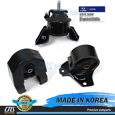 Engine /& Transmission Mount 4 Pcs kit fits for Hyundai Sonata 3.3L 06-08