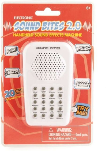 NEW Sound Bites 2.0 from Mr Toys