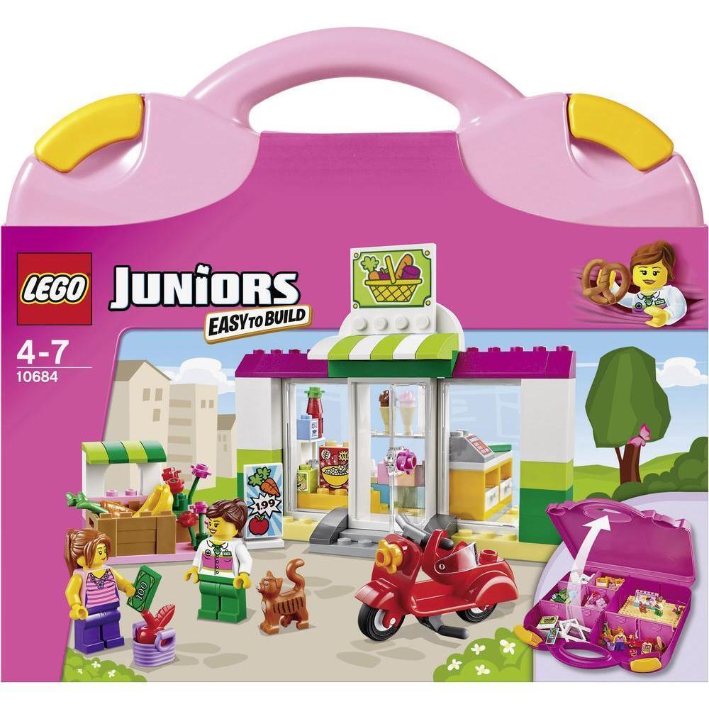 LEGO Juniors/Pietre & Co - 10684 supermercato-VALIGETTA-NUOVO & OVP