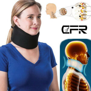 Neck-Support-Cervical-Collar-Traction-Device-Brace-Stretcher-Pain-Relief-Therapy