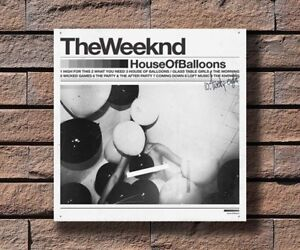 Hot The Weeknd House Of Balloons Music Album Cover Poster 24x24 Art