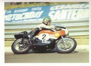 Renzo Passolini Harley XR750 road race photo REPRO