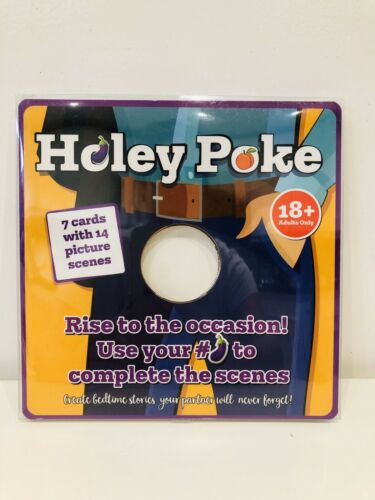 Novelty Rude Adult Game Holey Poke Book Valentines Day Gift Stag Do