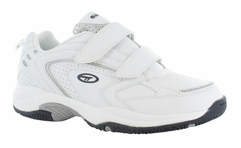 Hi Tec men Blast Lite Ez Touch Cinturino Passeggio shoes da Corsa in Bianco