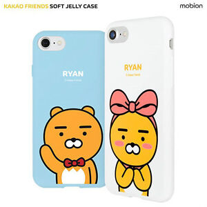 new products d4c7c b114f Details about Genuine Kakao Friends Soft Jelly Case iPhone X Case iPhone 10  Case 8 Types Case
