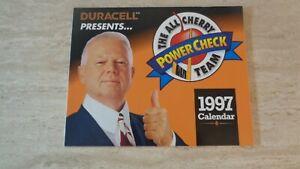 """1997 Duracell """"All-Cherry Team"""" Calendar - Don Cherry - 8 HOF's - NRMT"""