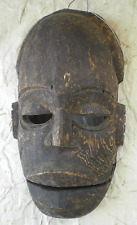 """OLD African NIGERIAN """"OGONI"""" Tribal Mask with HINGED or TALKING JAW"""