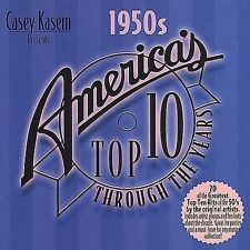 Casey Kasem: America's Top 10 Through Years - The 50's by Various Artists CD