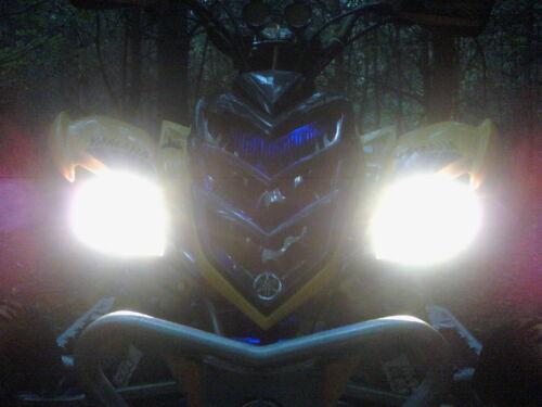 NEW GREEN Eyes YAMAHA Raptor 700 450 350 ATV HEADLIGHT COVERS RUKIND COVERS