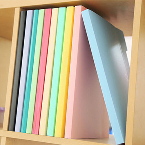 A4-Paper Expanding File Folder Pockets Accordion Document Organizer AA