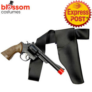 Details about AS221 Western Toy Gun and Holster Wild West Costume Cowboy  Gangster Police Cops