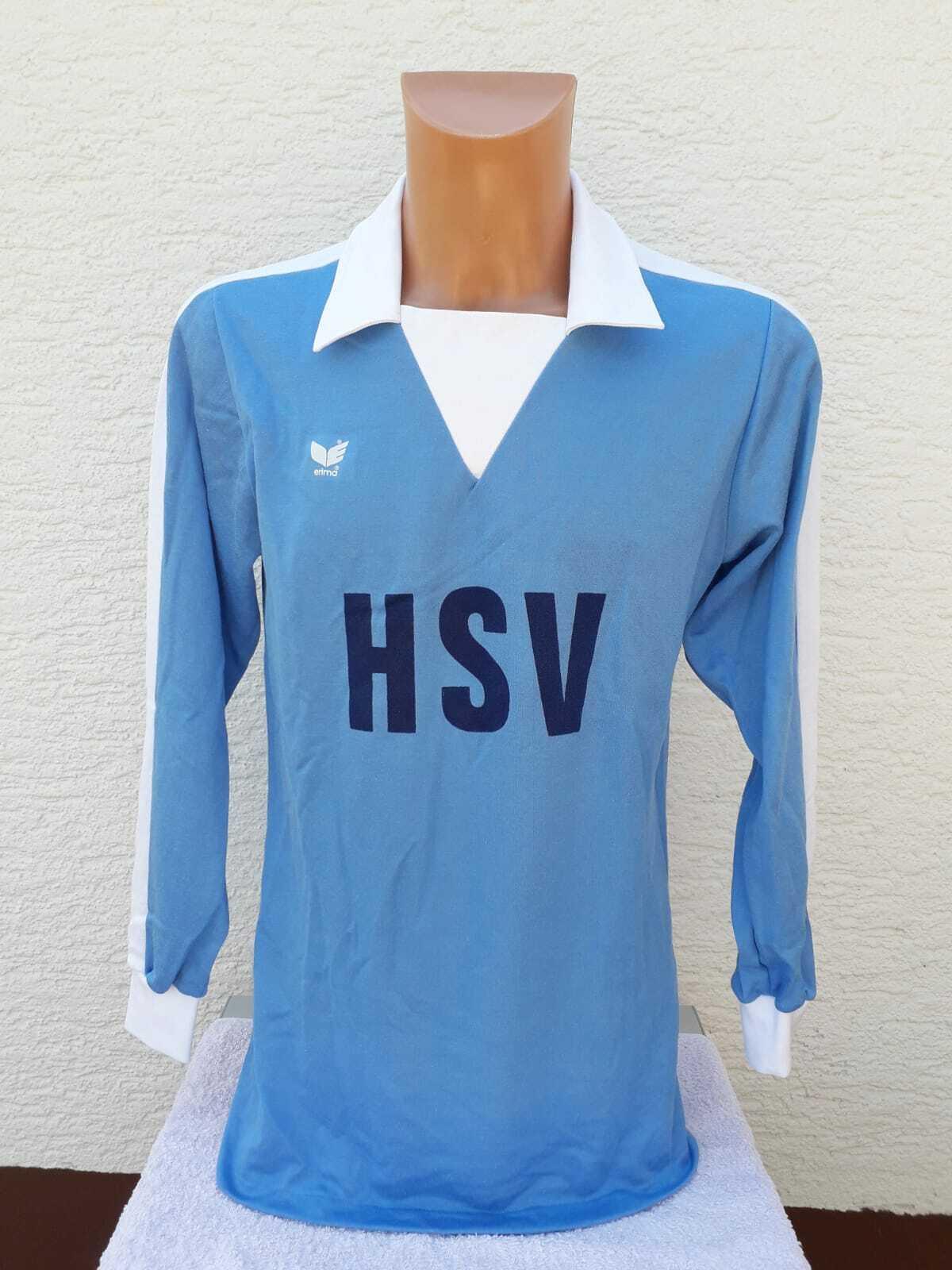 Hamburger SV Trikot M L Erima 1976-78 Shirt Jersey Maillot 70er 70s Vintage Home