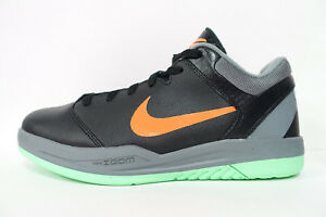 a9a44d82f448 MEN S NIKE ZOOM KOBE GAMETIME SHOES SIZE 9 black grey mango 540793 ...