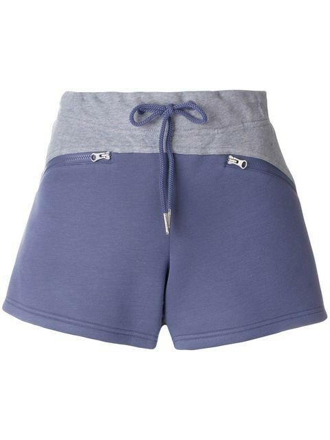 Adidas Stella Mccartney Essential Knit Grey Mauve Fitness Shorts BNWT Size UK S