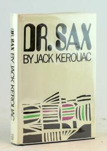 Jack Kerouac 1959 Dr Sax Grove Press Edition Beat Generation Hardcover w/DJ