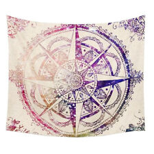 Diamond Flower Mandala Tapestry Wall Hanging Boho Bedspread Throw Dorm L