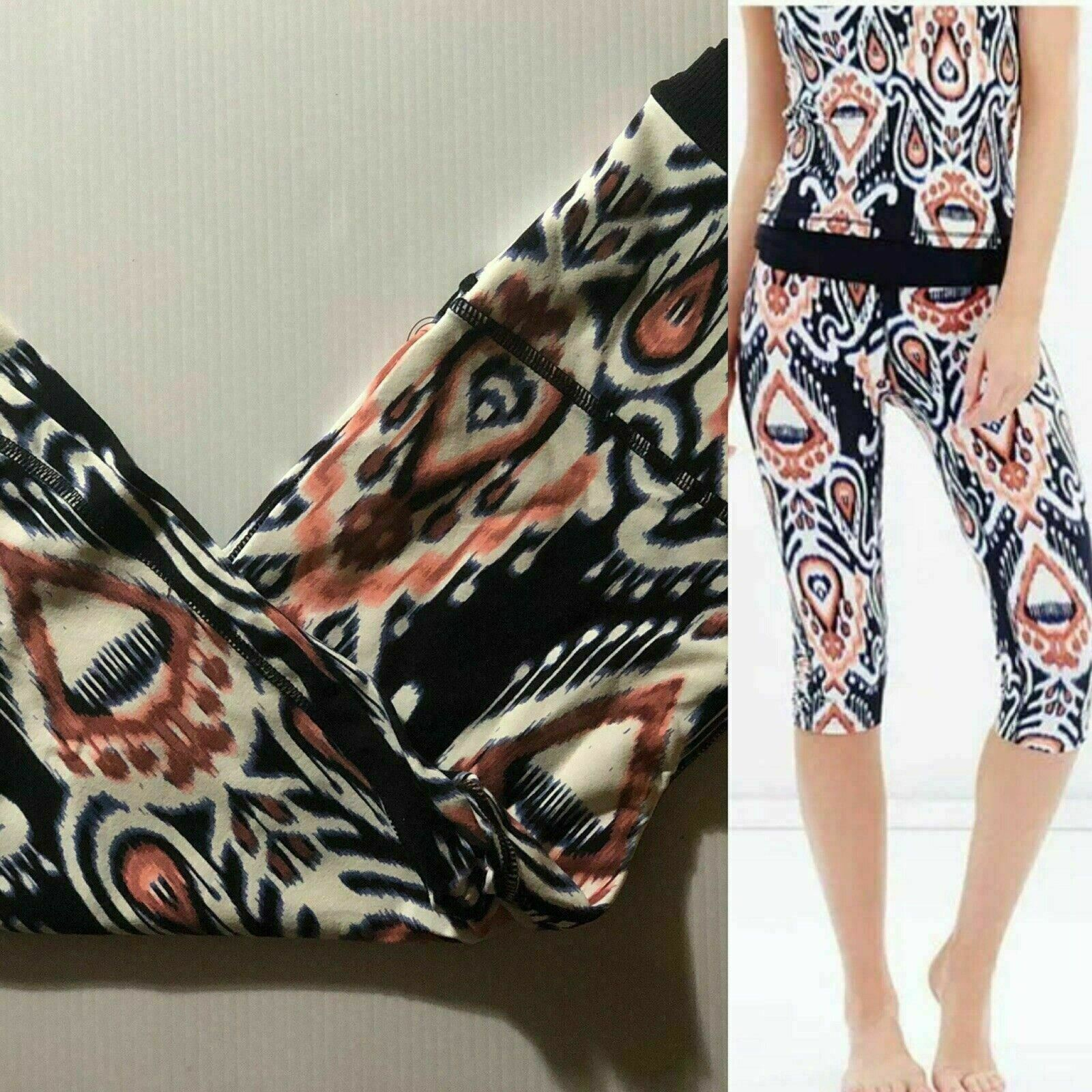 O'NEILL Women's Evoke Crop Legging Multi color pants Size S M L