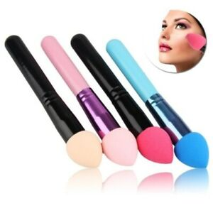 Makeup-Sponge-Professional-Beauty-Puff-Handle-Brush-Smooth-Powder-Foundation