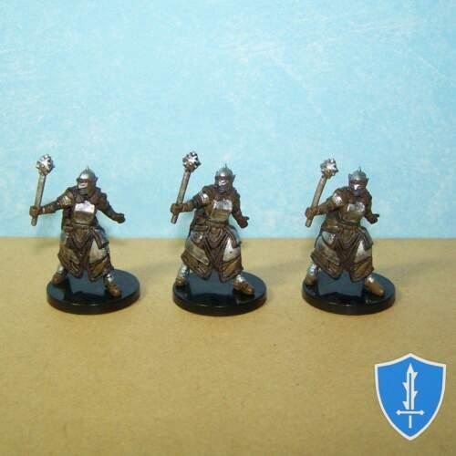 Hobgoblin Cleric x3 Deadly Foes #10 Pathfinder Battles D/&D Miniature