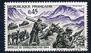 STAMP-TIMBRE-FRANCE-OBLITERE-N-1601-VICTOIRE-DE-GARIGLIANO