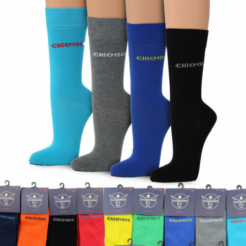 Chiemsee 2 paia di calze da uomo colorate Calze Calze Taglia 39 42 o 43 46 47 50