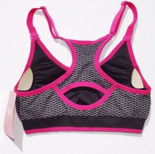 Medium or Large NEW Women/'s Danskin Now Seamless Athletic Padded Sports  Size