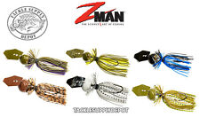 Z-Man 3//4 oz Choice of Colors Chatterbait Freedom CFL Bladed Jig