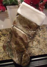 Realtree AP Licensed Camo Christmas Stocking Camoflauge Decoration
