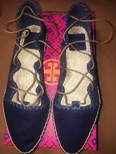 3abb3f1c8ea item 3 Tory Burch Sonoma Gillie Espadrille Canvas Navy Sea Women Size 7.5  Shoes New - Tory Burch Sonoma Gillie Espadrille Canvas Navy Sea Women Size  7.5 ...