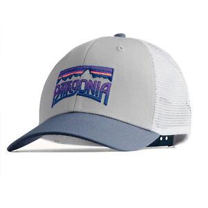 21847c11882 Patagonia Mens - Fitz Roy Frostbite Trucker Hat Cap - Drifter Grey ...