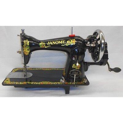 Janome 131 Hand Crank Antique Looking Sewing Machine Customer Return