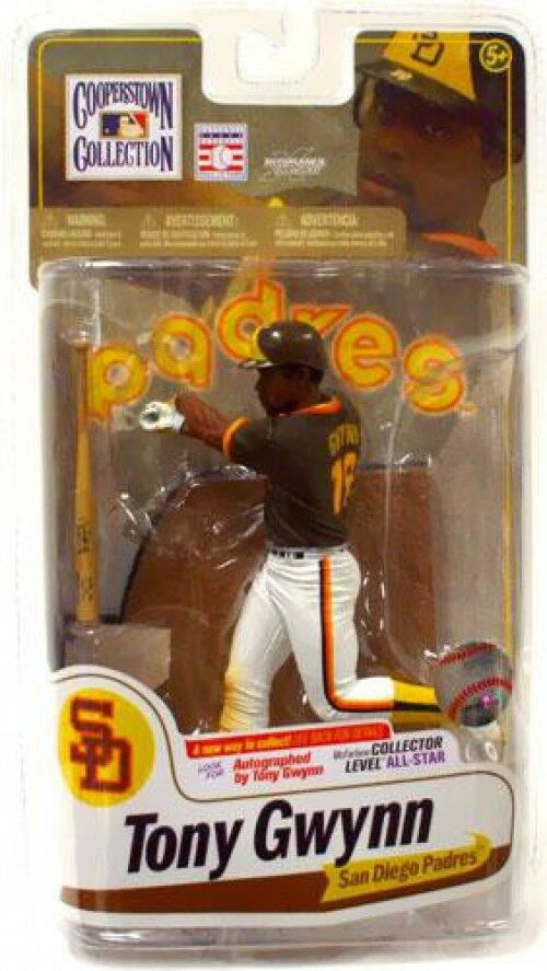 MLB Cooperstown Collection Series 7 Tony Gwynn Action Figure [Brown Jersey]