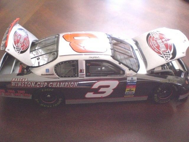 Dale Earnhardt  3 Victory Lap 7x Champion Coloreee CHROME ACTION 1 24 RARE 2003