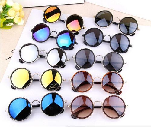 RETRO Rotondo Stile Designer VINTAGE lente Fasion specchio Occhiali da sole liberi Custodia 4500