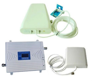 Details about GSM WCDMA 900/2100MHz 3G Dual Band Mobile Cell Phone Signal  Booster Repeater