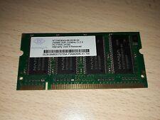 Banco RAM 256 MB DDR 333Mhz CL2.5 PC2700S Nanya
