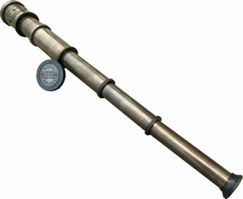 Nautical Maritime Telescope Marine Antique Brass Pirate Spyglass Vintage Scope