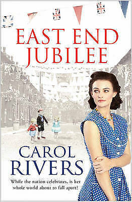 East End Jubilee by Carol Rivers, Good Used Book (Paperback) FREE & FAST Deliver