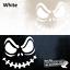 Evil//assustador Sorriso-Divertido De Parede//carro//laptop etc Adesivo De Vinil 16 opções de cores