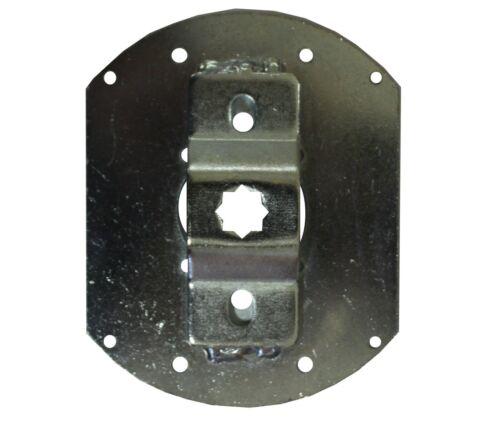 Inoutic Fertigkastenlager//Motorlager für Rollladenmotoren mit 10 mm Vierkant