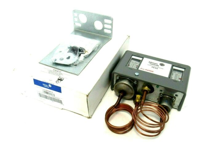 JOHNSON CONTROLS P70LB-1C SINGLE POLE DUAL PRESSURE CONTROL 10541