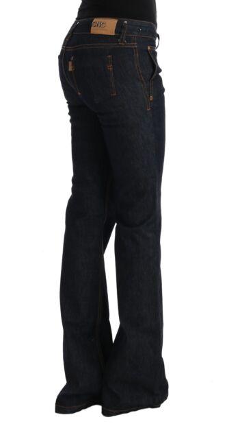 NEW $280 CoSTUME NATIONAL C/'N/'C Jeans Denim Purple Cotton Stretch Slim Pants W30