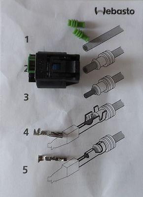 Gehause Kabelsats Webasto Dosierpumpe DP41/42 EVO 4/5 connector Stecker AIRBAG