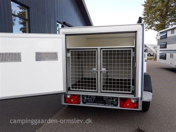 Hundetrailer, Selandia 3 - 3 hunde, lastevne (kg): 477