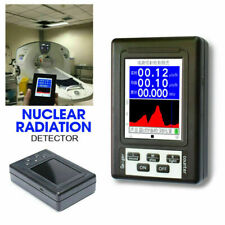 Geiger Counter Nuclear Radiation Detector Beta Gamma X Ray Monitor Meter Test