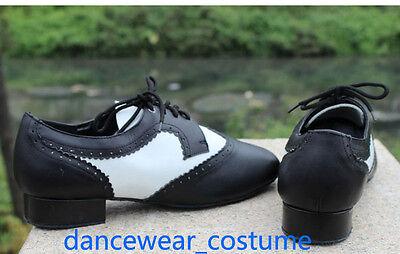 Neu Herren Latein Moderne Tanzschuhe Tango Ballsaal Salsa Schuhe Men Dance Shoes