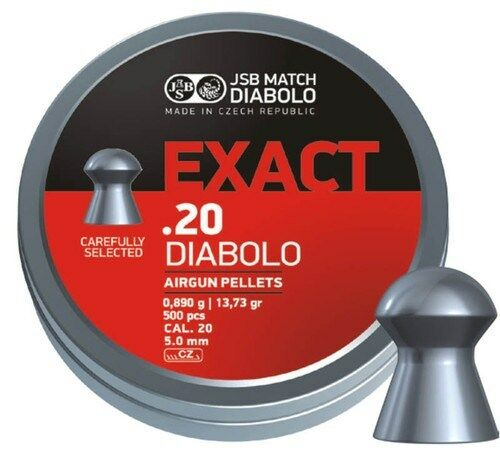 JSB EXACT .20 (5.1) MATCH PELLETS FT HFT EXACTS