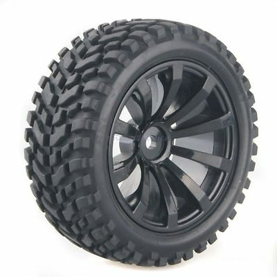 4x RC Pull Rally Car 1:10 On Road or 1:16 Off-Road Wheel Rim Tyre Tire 601-7004