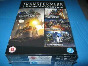 Transformers 1-4 [DVD] Box Set New Sealed